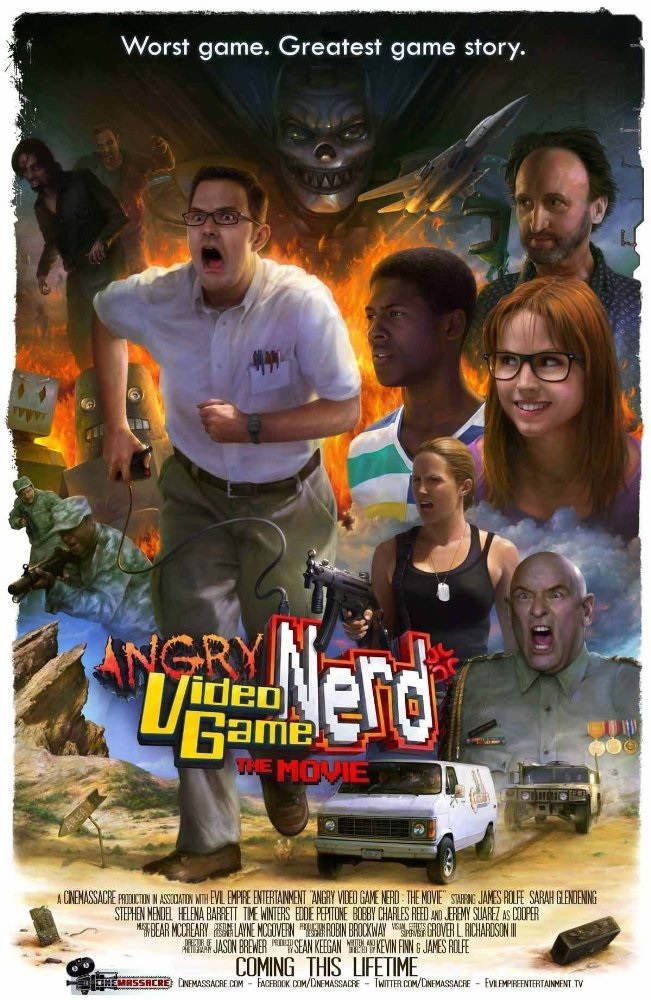 the angry videogame nerd pelicula