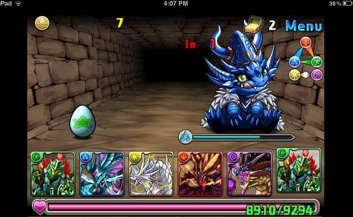 Puzzle & Dragons © GungHo Online Entertainment