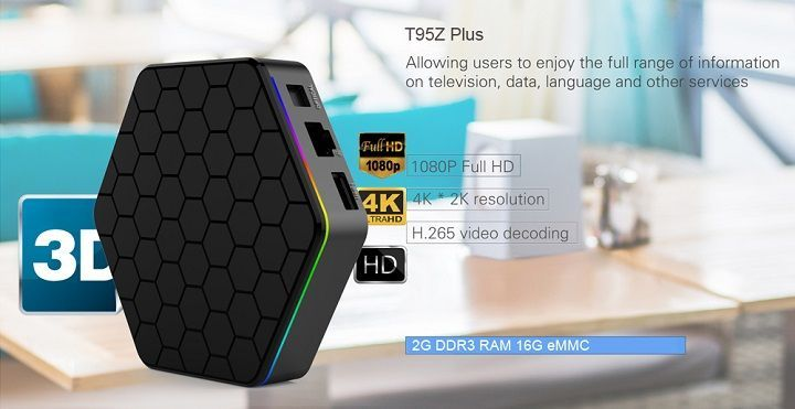 Promocion año nuevo chino GearBest 2017 Sunvell T95Z Plus tvbox